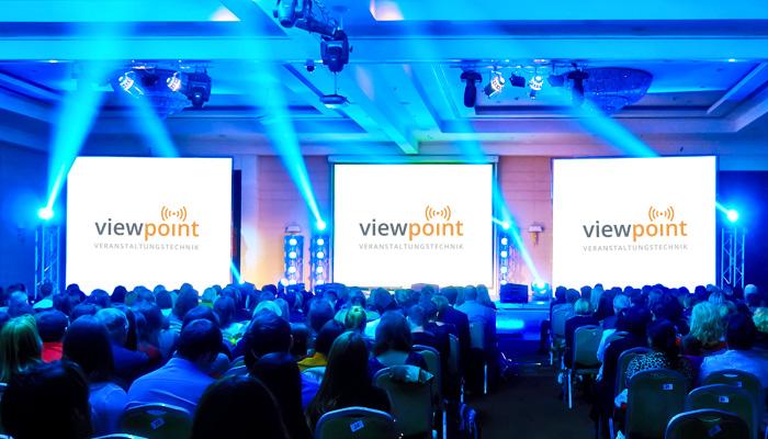 Viewpoint Veranstaltungstechnik realisiert Ihren Event routiniert und zuverlässig. Wir betreuen Ihrer Veranstaltung durch erfahrene und kompetente Licht- und Tontechniker, kümmern uns um den Auf- und Abbau der Bühne, richten Licht- und Tonanlagen ein und sorgen durch Lichtinstallationen und Fassadenilluminationen für ein stimmungsvolles Ambiente. Unsere Spezialisten kümmern sich gerne um die reibungslose Abwicklung Ihres Events wie z.B. Messen, Ausstellungen, Kongresse, Tagungen, Sportveranstaltungen, Mitarbeiterfeste, Firmenfeste, Unternehmenspräsentationen, Produktpräsentationen, Jubiläen, Gala-Events, Konzerte und Festivals.